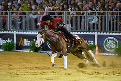 Cira Baeck, (BEL), Colonels Shining Gun - Individual Final Comptetition - Alltech FEI World Equestrian Games™ 2014 - Normandy, France.<br /> © Hippo Foto Team - Leanjo De Koster<br /> 30-08-14