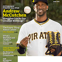 Pittsburgh Pirates CF Andrew McCutchen for Guideposts Magazine