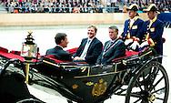 ERMELO - Opening van het Nationaal Hippisch Centrum in de Amaliahal in Ermelo door Koning Willem Alexander. COPYRIGHT ROBIN UTRECHT