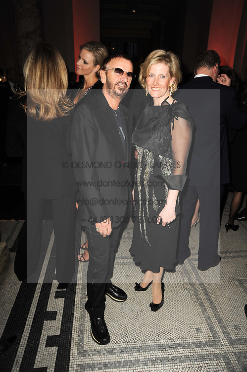RINGO STARR and HRH The COUNTESS OF WESSEX at the opening of the Victoria & Albert Museum's latest exhibition 'Grace Kelly: Style Icon' opened by His Serene Highness Prince Albert of Monaco at the V&A on 15th April 2010.