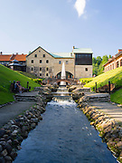 At the Belmontas restaurant and events facility, a converted mill, Vilnius, Lithuania