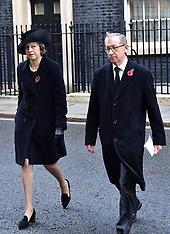 London: Remembrance Sunday, 13 Nov. 2016