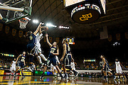 WACO, TX - DECEMBER 12:  Brooklyn Pope #32 of the Baylor University Bears drives to the basket against the Oral Roberts University Golden Eagles on December 12, 2012 at the Ferrell Center in Waco, Texas.  (Photo by Cooper Neill/Getty Images) *** Local Caption *** Brooklyn Pope