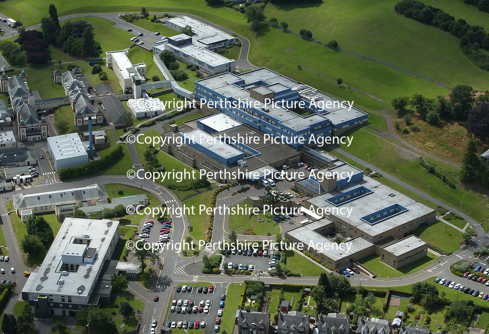 An aerial view of the Perth Royal Infirmary. PRI<br />