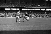 12/05/1968<br /> 05/12/1968<br /> 12 May 1968<br /> National Hurling League Home Final: Tipperary v Kilkenny at Croke Park, Dublin.<br /> J. Doyle (right) of Tipperary getting to the ball.