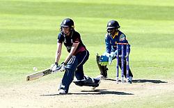 Sarah Taylor of England Women reverse sweeps - Mandatory by-line: Robbie Stephenson/JMP - 02/07/2017 - CRICKET - County Ground - Taunton, United Kingdom - England Women v Sri Lanka Women - ICC Women's World Cup Group Stage