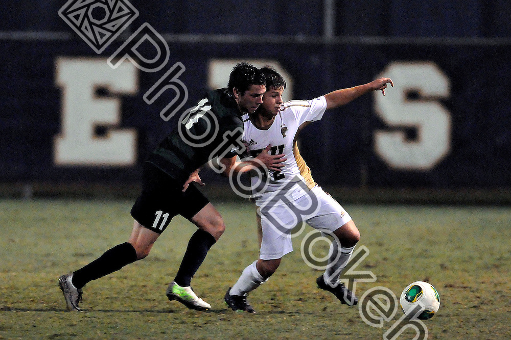 2013 November 08 - FIU's Juan Benedetty (12).   <br /> Florida International University fell to Charlotte, 3-0, at FIU Soccer Field, Miami, Florida. (Photo by: www.photobokeh.com / Alex J. Hernandez) This image is copyright PhotoBokeh.com and may not be reproduced or retransmitted without express written consent of PhotoBokeh.com. &copy;2013 PhotoBokeh.com - All Rights Reserved