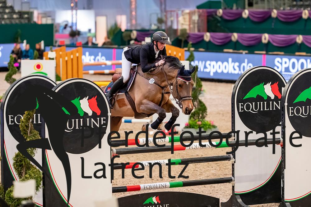 FLÜCKEN Gerrit (GER), Chazetto<br /> Leipzig - Partner Pferd 2019<br /> SPOOKS-Amateur Trophy<br /> Medium Tour<br /> 17. Januar 2019<br /> © www.sportfotos-lafrentz.de/Stefan Lafrentz