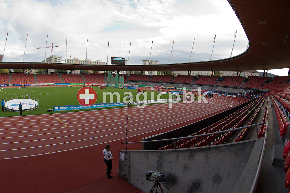 General view of the facility during the Iaaf Diamond League meeting at the Letzigrund Stadium in Zurich, Switzerland, Thursday, Sept. 8, 2011. (Photo by Patrick B. Kraemer / MAGICPBK)