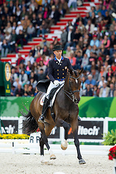 Steffen Peters, (USA), Legolas 92 - Grand Prix Special Dressage - Alltech FEI World Equestrian Games™ 2014 - Normandy, France.<br /> © Hippo Foto Team - Leanjo de Koster<br /> 25/06/14