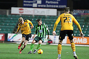 Dannie Bulman of AFC Wimbledon during the Sky Bet League 2 match between Newport County and AFC Wimbledon at Rodney Parade, Newport, Wales on 19 December 2015. Photo by Stuart Butcher.