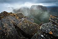 Du Cane Range in Cradle Mountain–Lake St Clair National Park, Tasmania
