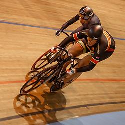 28-12-2017: Wielrennen: NK Baan: Alkmaar<br />Elis Ligtlee moet haar meerdere erkennen tijdens de finale NK Sprint vrouwen in Laurine van RIessen