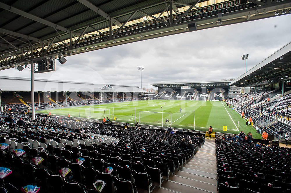 A general view of the Craven Cottage during the EFL Sky Bet Championship match between Fulham and Wolverhampton Wanderers at Craven Cottage, London, England on 18 March 2017. Photo by Salvio Calabrese.