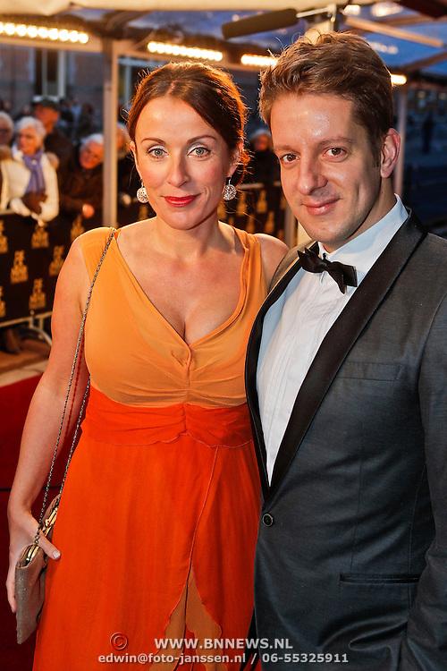 NLD/Amsterdam/20101128 - Opening Delamar theater, Annick Boer en Alex Klaassen