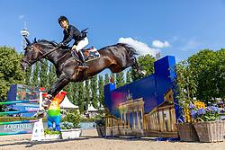 TOPS-ALEXANDER Edwina (AUS), Cinsey<br /> Berlin - Global Jumping Berlin 2018<br /> CSI5* Championat der Deutschen Kreditbank AG von Berlin<br /> 29. Juli 2018<br /> © www.sportfotos-lafrentz.de/Stefan Lafrentz