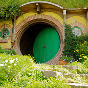A visit to Hobbiton, Middle Earth (the movie set)