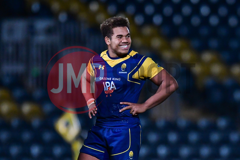 Ollie Lawrence of Worcester Cavaliers - Mandatory by-line: Craig Thomas/JMP - 23/10/2017 - RUGBY - Sixways Stadium - Worcester, England - Worcester Cavaliers v Wasps - Aviva A League