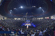 Students gather in the Vines Center on February 5, 2016 for Convocation.