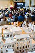 Achitect, Sir David Chipperfield unveils plans for a major redevelopment of the Royal Academy of Arts which will be completed in time for its 250th anniversary in 2018. The project is the most important development of the Royal Academy in its history.  The development will allow key works from the Royal Academy's Collection to be brought out of store and go on view to the public. These include Queen Victoria's paintbox, Turner's travelling watercolour box, Joshua Reynolds' diaries, a rarely displayed Pissarro drawing, and letters between artists such as Thomas Gainsborough to Sir Joshua Reynolds. 11 May 2015.