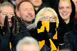 Wasps fans - Mandatory by-line: Dougie Allward/JMP - 30/11/2019 - RUGBY - Sandy Park - Exeter, England - Exeter Chiefs v Wasps - Gallagher Premiership Rugby