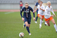 Sabrina Delannoy  - 20.12.2014 - PSG / Montpellier - 14eme journee de D1<br /> Photo : Andre Ferreira / Icon Sport