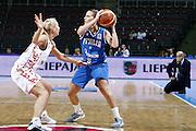 DESCRIZIONE : Riga Latvia Lettonia Eurobasket Women 2009 Qualifying Round Russia Italia Russia Italy<br /> GIOCATORE : Chiara Pastore<br /> SQUADRA : Italia Italy<br /> EVENTO : Eurobasket Women 2009 Campionati Europei Donne 2009 <br /> GARA : Russia Italia Russia Italy<br /> DATA : 14/06/2009 <br /> CATEGORIA : passaggio<br /> SPORT : Pallacanestro <br /> AUTORE : Agenzia Ciamillo-Castoria/E.Castoria