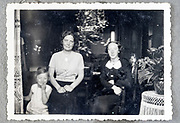 mother with child and friend indoors ca 1950s Netherlands