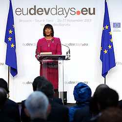 26 November 2013 - Belgium - Brussels - European Development Days - EDD - A vision for the post-2015 agenda - Portia Simpson-Miller - <br /> Prime Minister of Jamaica &copy; European Union