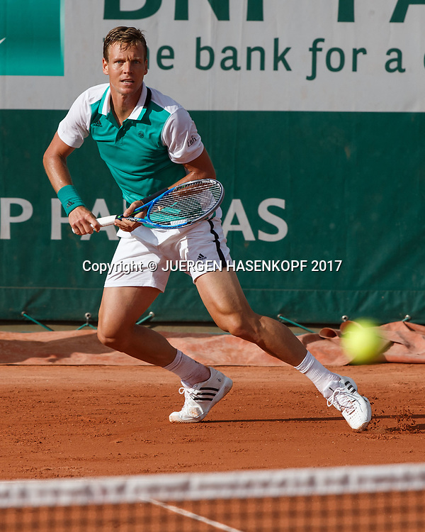 TOMAS BERDYCH (CZE)<br /> <br /> Tennis - French Open 2017 - Grand Slam ATP / WTA -  Roland Garros - Paris -  - France  - 30 May 2017.