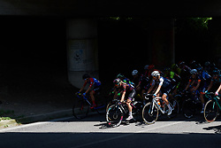 Alexis Ryan (USA) and Tayler Wiles (USA) during Stage 9 of 2019 Giro Rosa Iccrea, a 125.5 km road race from Gemona to Chiusaforte, Italy on July 13, 2019. Photo by Sean Robinson/velofocus.com