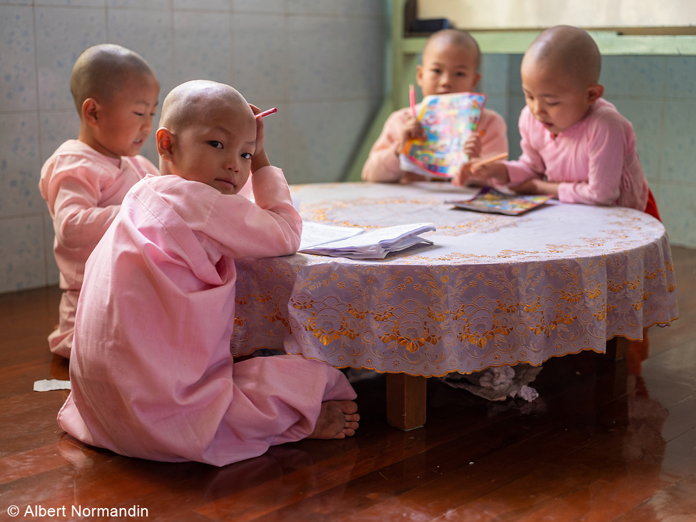 Compassion and Peace Nunnery, Nyaung Shwe, Inle Lake, Myanmar