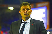 Birmingham City manager Steve Cotterill during the EFL Sky Bet Championship match between Birmingham City and Brentford at St Andrews, Birmingham, England on 1 November 2017. Photo by Dennis Goodwin.