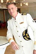 Setbezoek bij de nieuwe K3-film: K3 Love Cruise, op  de SS Rotterdam in Rotterdam.<br /> <br /> op de foto:  Winston Post