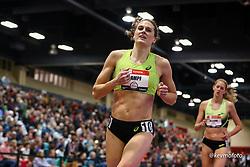 2020 USATF Indoor Championship<br /> Albuquerque, NM 2020-02-15<br /> photo credit: © 2020 Kevin Morris<br /> womens 1500m, asics