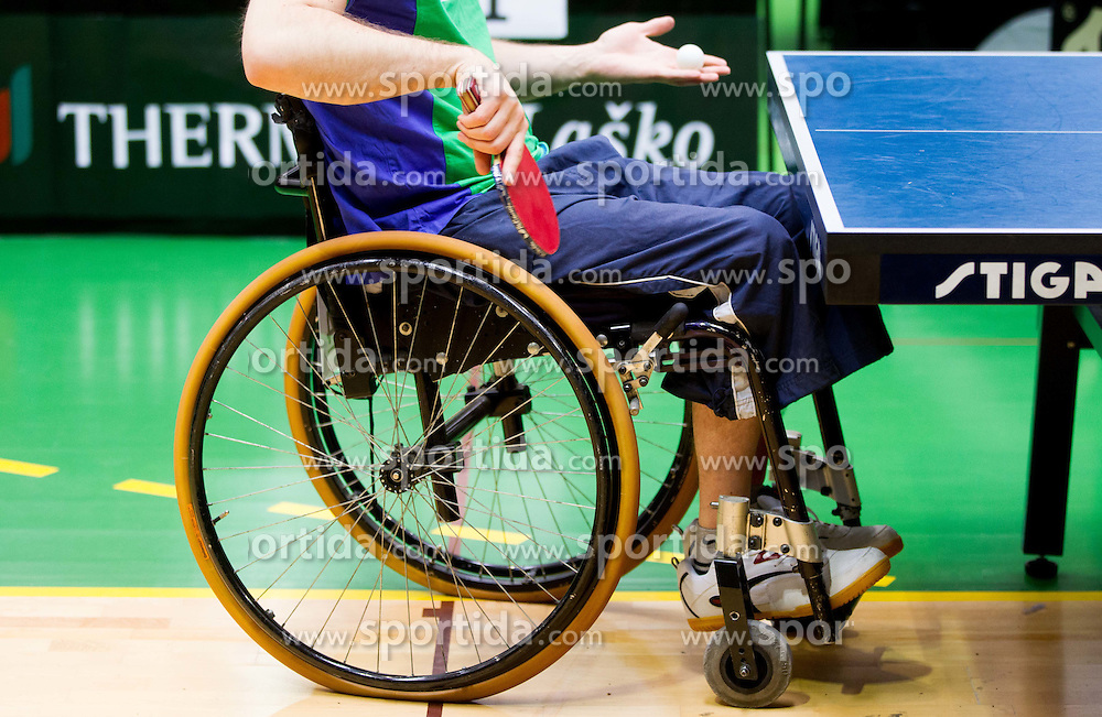 Feature at 9th Slovenia Open - Thermana Lasko 2012 - Table Tennis Tournament for the Disabled, on May 12, 2012, in Dvorana Tri Lilije, Lasko, Slovenia. (Photo by Vid Ponikvar / Sportida.com)