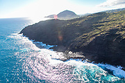Makapuu, Oahu, Hawaii, aerial