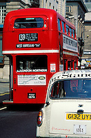 Grande Bretagne, Royaume Unis, Angleterre, Londres, Bus londonien, Détail // UK, London, Local Bus