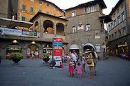 Piazza della Repubblica in Cortona