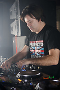 DJ Paul Oakenfold performing at Club Europe in St. Louis on November 18, 2010