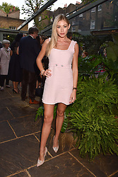 Bryony Bowes at The Ivy Chelsea Garden Summer Party, Kings Road, London, England. 14 May 2018.