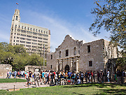 """The Alamo Mission in San Antonio (or """"The Alamo"""") was originally known as Mission San Antonio de Valero, a former Roman Catholic mission and fortress compound, and the site of the Battle of the Alamo in 1836. It is now a museum in the Alamo Plaza District of Downtown San Antonio, Texas, USA."""