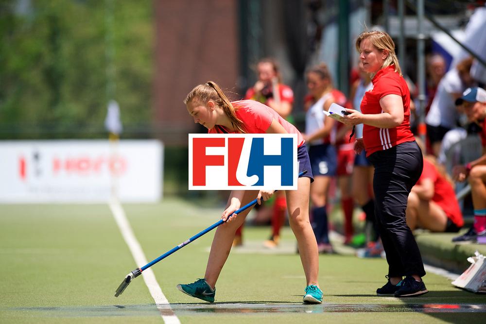 SANTIAGO - 2016 8th Women's Hockey Junior World Cup.<br /> USA v BEL (5 / 8 Place)<br /> foto:<br /> FFU PRESS AGENCY COPYRIGHT FRANK UIJLENBROEK