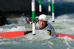 Yongzhao XU of China during the Canoe Single (C1) Men SemiFinal race of 2019 ICF Canoe Slalom World Cup 4, on June 28, 2019 in Tacen, Ljubljana, Slovenia. Photo by Sasa Pahic Szabo / Sportida