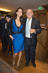 ALEX PAKENHAM and DAVID WYNNE-MORGAN at the launch of BAR20 at Birleys, 20 Fenchurch Street, City of London on 10th November 2015.