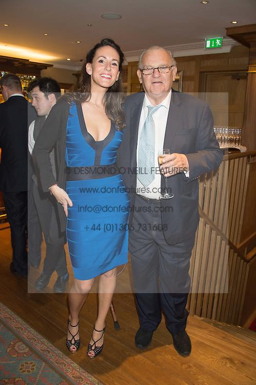 ALEX PAKENHAM and DAVID WYNNE-MORGAN at the launch of BAR20 at Birleys, 20 Fenchurch Street, City of London on 10th November 2015.