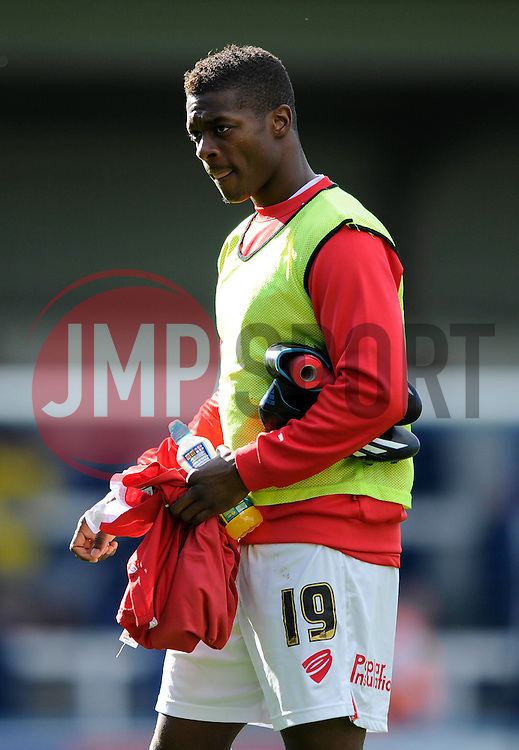 Bristol City's Kieran Agard - Photo mandatory by-line: Dougie Allward/JMP - Mobile: 07966 386802 23/08/2014 - SPORT - FOOTBALL - Manchester - Spotland Stadium - Rochdale AFC v Bristol City - Sky Bet League One