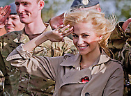 "PIXIE LOTT.visits RAF Northolt to meet members of The Royal Air Force (including Queens's Colour Squadron) and their families on behalf of The Royal British Legion Poppy Appeal 2012_25/10/2012.Mandatory Credit Photo: ©N Chapman/NEWSPIX INTERNATIONAL..**ALL FEES PAYABLE TO: ""NEWSPIX INTERNATIONAL""**..IMMEDIATE CONFIRMATION OF USAGE REQUIRED:.Newspix International, 31 Chinnery Hill, Bishop's Stortford, ENGLAND CM23 3PS.Tel:+441279 324672  ; Fax: +441279656877.Mobile:  07775681153.e-mail: info@newspixinternational.co.uk"