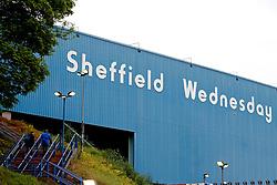 Fans walk up the steps into Hillsborough Stadium - Mandatory by-line: Matt McNulty/JMP - 17/05/2017 - FOOTBALL - Hillsborough - Sheffield, England - Sheffield Wednesday v Huddersfield Town - Sky Bet Championship Play-off Semi-Final 2nd Leg