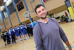 The fan at practice session of handball team Slovenia before the match against Germany, on May 01, 2017 in Vojasnica Edvarda Peperka, Ljubljana, Slovenia. Photo by Matic Klansek Velej / Sportida